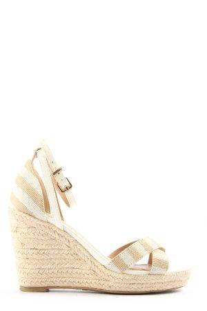 js by jane shilton Sandalias de tacón con plataforma blanco-blanco puro
