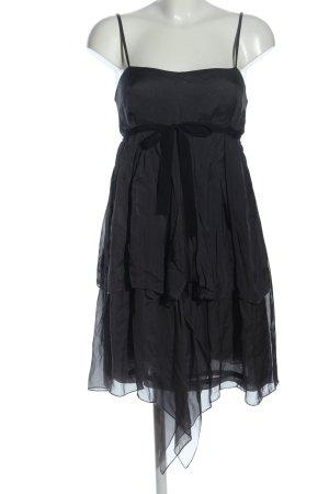 Jucca Babydollkleid schwarz Elegant
