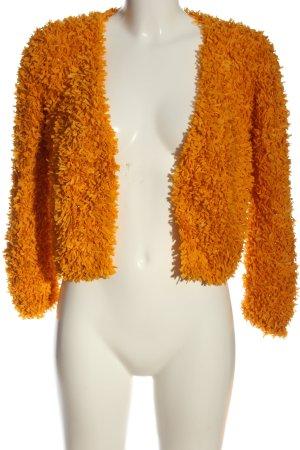 Jucca Bolerko jasny pomarańczowy W stylu casual