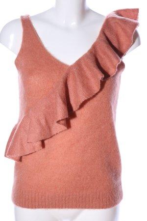 Jucca Haut tricotés rose style décontracté