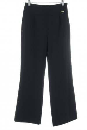 Judith Williams I love Milano Bundfaltenhose schwarz Business-Look