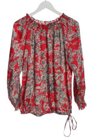 Judith Williams I love Milano Langarm-Bluse abstraktes Muster Casual-Look