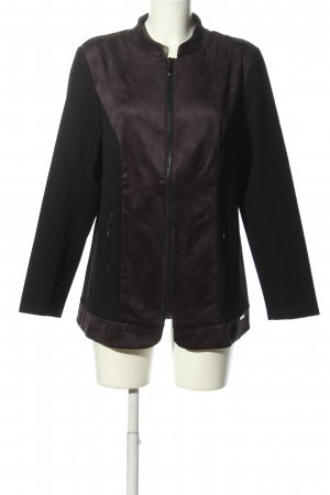 Judith Williams I love Milano Shirtjacke schwarz-lila Casual-Look