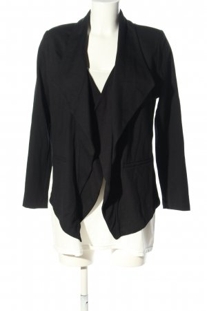 Judith Williams Jerseyblazer schwarz Casual-Look