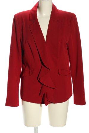 Judith Williams Kurz-Blazer rot Casual-Look