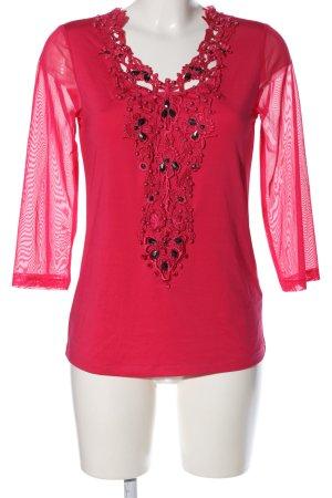 Judith Williams Langarm-Bluse pink Elegant