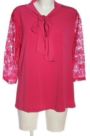 Judith Williams Langarm-Bluse pink Webmuster Casual-Look