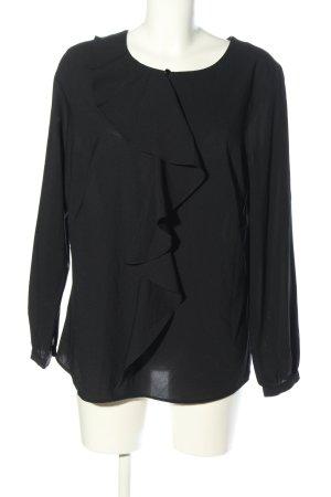Judith Williams Langarm-Bluse schwarz Casual-Look
