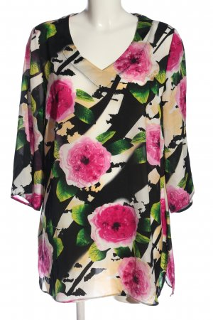 Judith Williams Long-Bluse Allover-Druck Casual-Look