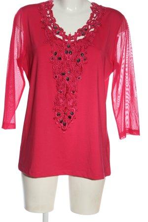 Judith Williams Longsleeve pink Casual-Look
