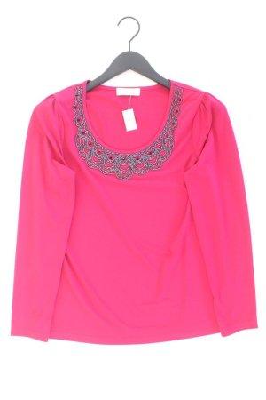 Judith Williams Longsleeve-Shirt Größe 38 Langarm pink aus Polyester