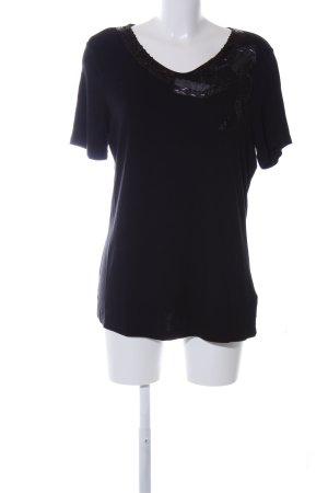 Judith Williams Print-Shirt schwarz Casual-Look