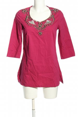Judith Williams Schlupf-Bluse pink Casual-Look