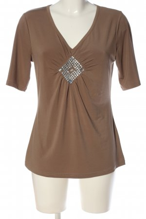 Judith Williams Schlupf-Bluse braun Casual-Look