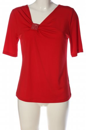Judith Williams Schlupf-Bluse rot Casual-Look