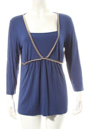 Judith Williams Shirt blau Party-Look