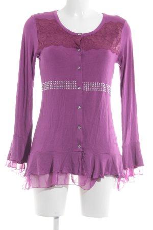 Judith Williams Shirttunika pink extravaganter Stil