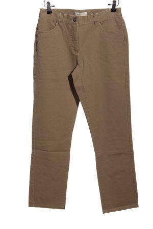 Judith Williams Straight-Leg Jeans braun Casual-Look