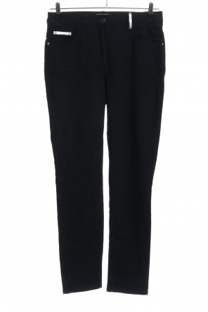 Judith Williams Straight-Leg Jeans schwarz Casual-Look