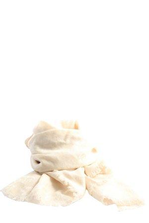 Judith Williams Bufanda de punto crema look casual