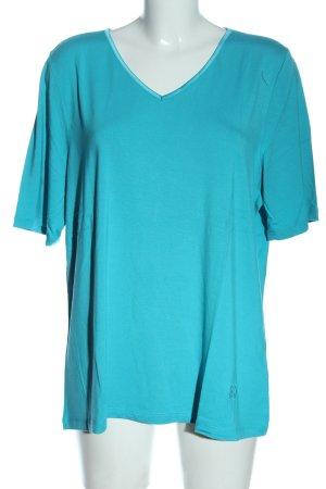 Judith Williams T-Shirt blau Casual-Look