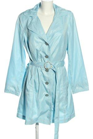 Judith Williams Übergangsmantel blau Casual-Look