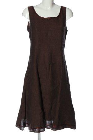 Judy Brown A-Linien Kleid braun Casual-Look