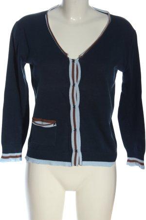 Judy Brown Cardigan tricotés motif rayé style décontracté