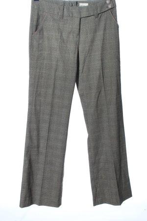 Jürgen Michaelsen Pantalon lichtgrijs volledige print zakelijke stijl