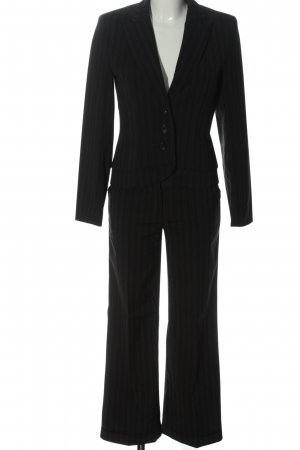 Jürgen Michaelsen Business Suit light grey-black striped pattern business style