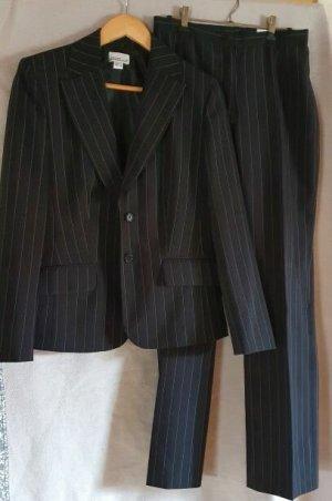 Jürgen Michaelsen Business Suit black polyester