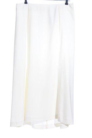 Jürgen Michaelsen Maxi gonna bianco stile casual