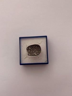 Jugendstil Silber 835 Ring mit Markasiten
