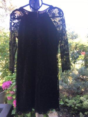 Juicy Couture Vestido de encaje negro