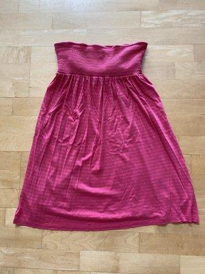 Juicy Couture Bandeau Dress magenta-bright red modal fibre