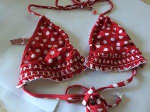 Juicy Couture Beach Royalty Bikini Rot/Weiß
