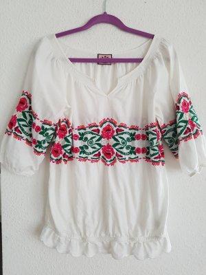 Juicy couture besticktes Hemd im Hippie-look gr M