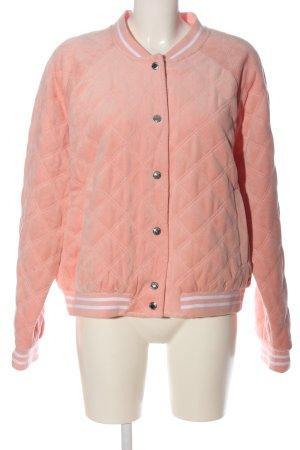Juicy Couture Chaqueta bomber rosa estampado acolchado look casual