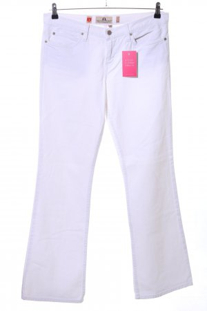 Juicy Couture Boot Cut Jeans weiß Casual-Look