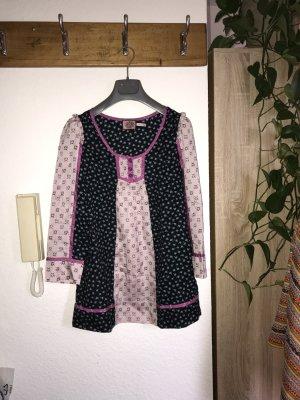 Juicy Couture Blouse à manches longues multicolore coton