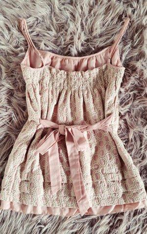 Juicy Couture Top met spaghettibandjes stoffig roze-rosé Katoen