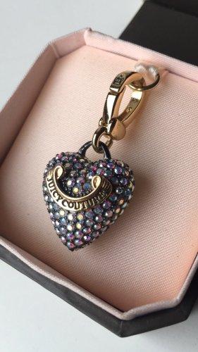 Juicy Couture Breloque doré-gris lilas