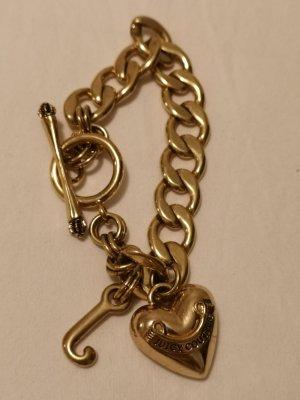 Juicy Couture classic golden chain bracelet