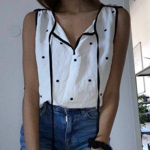 Juicy Couture Débardeur noir-blanc