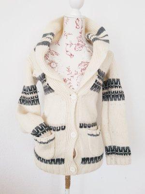 Juicy Couture Fair Isle CardiganStrickjacke zum knoten winter Weihnachten