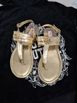 Juicy Couture gr.36 Glitzer Slippers Badeschuhe Sandalen