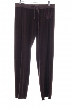 Juicy Couture Sweathose lila Schriftzug gedruckt sportlicher Stil