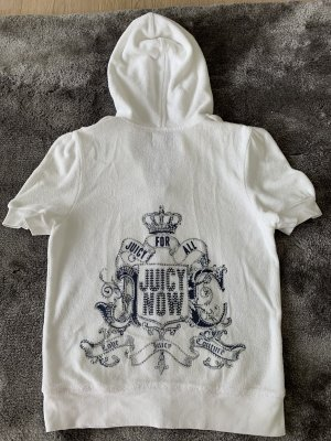 Juicy Couture Hoody white-steel blue