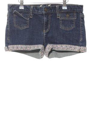 Juicy Couture Hot Pants blau Blumenmuster Casual-Look