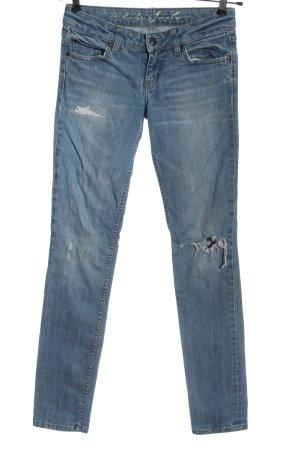 Juicy Couture Jeans taille basse bleu style décontracté